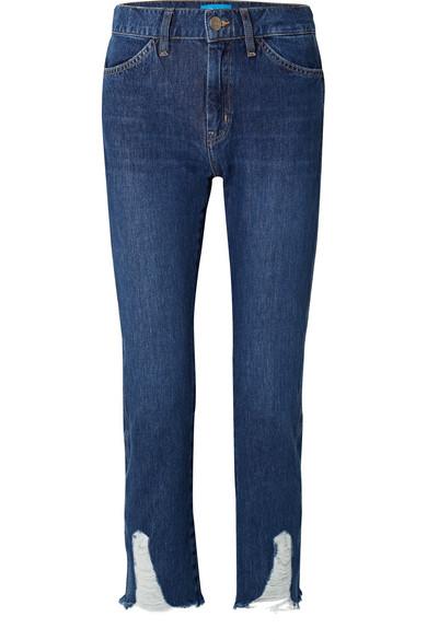 M.i.h Jeans Cult halbhohe Jeans mit geradem Bein in Distressed-Optik Exklusive Online Offizielle Online Niedrige Versandgebühr Verkauf Online Günstig Kaufen Besuch Spielraum Bilder vynAG