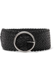 Anderson's Woven leather waist belt