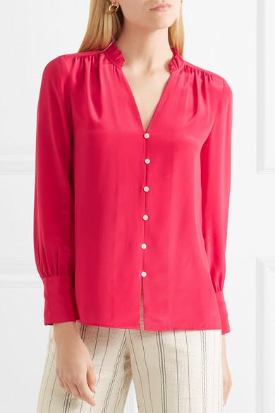 1d5cc7c75f Roast ruffled silk-georgette blouse