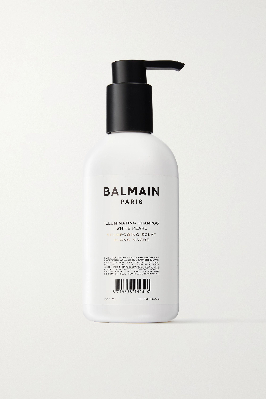 Balmain Paris Hair Couture White Pearl Shampoo, 300 ml – Shampoo für helles Haar