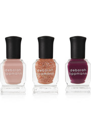 Deborah Lippmann Color On Glass Nail Polish Set