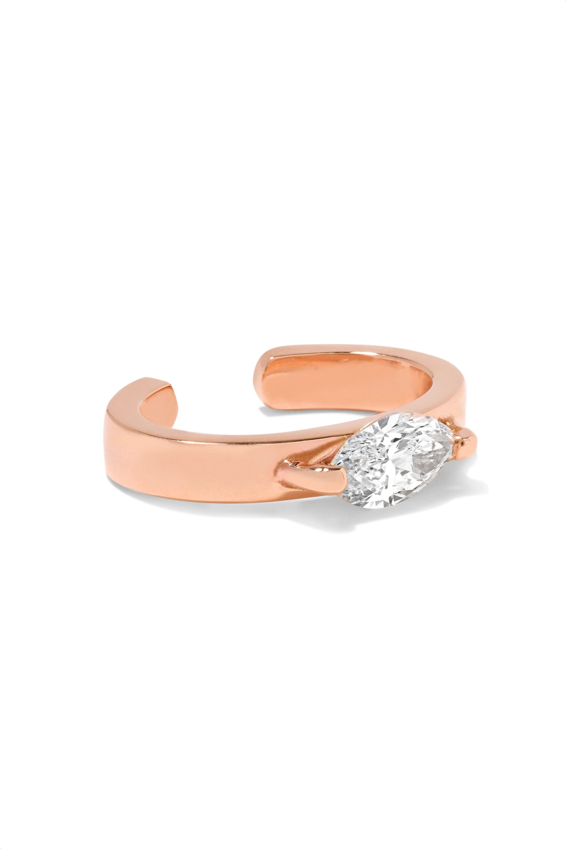 Anita Ko Bijou d'oreille en or rose 18carats et diamants