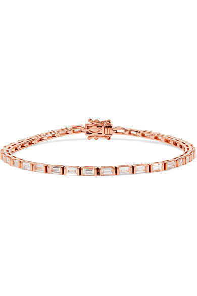 18-karat Rose Gold Diamond Bracelet - one size Anita Ko Nw9luLfyeV