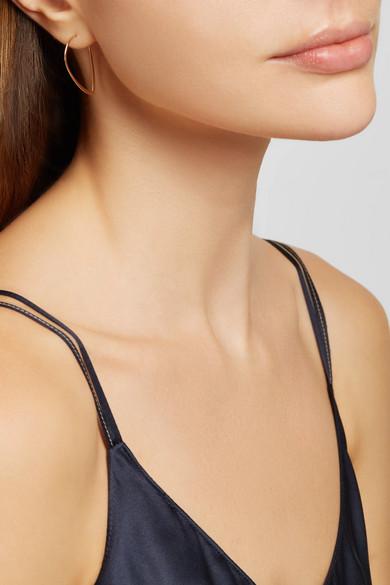 Melissa Joy Manning 14 Karat Gold Hoop Earrings Net A Porter Com