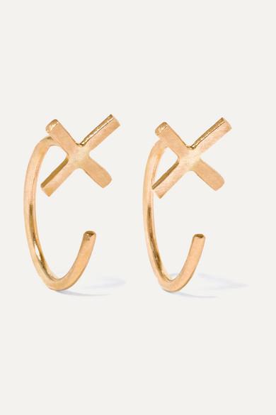 Melissa Joy Manning 14 Karat Gold Earrings Net A Porter Com