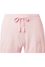 Skin Vic cotton-blend pajama shorts