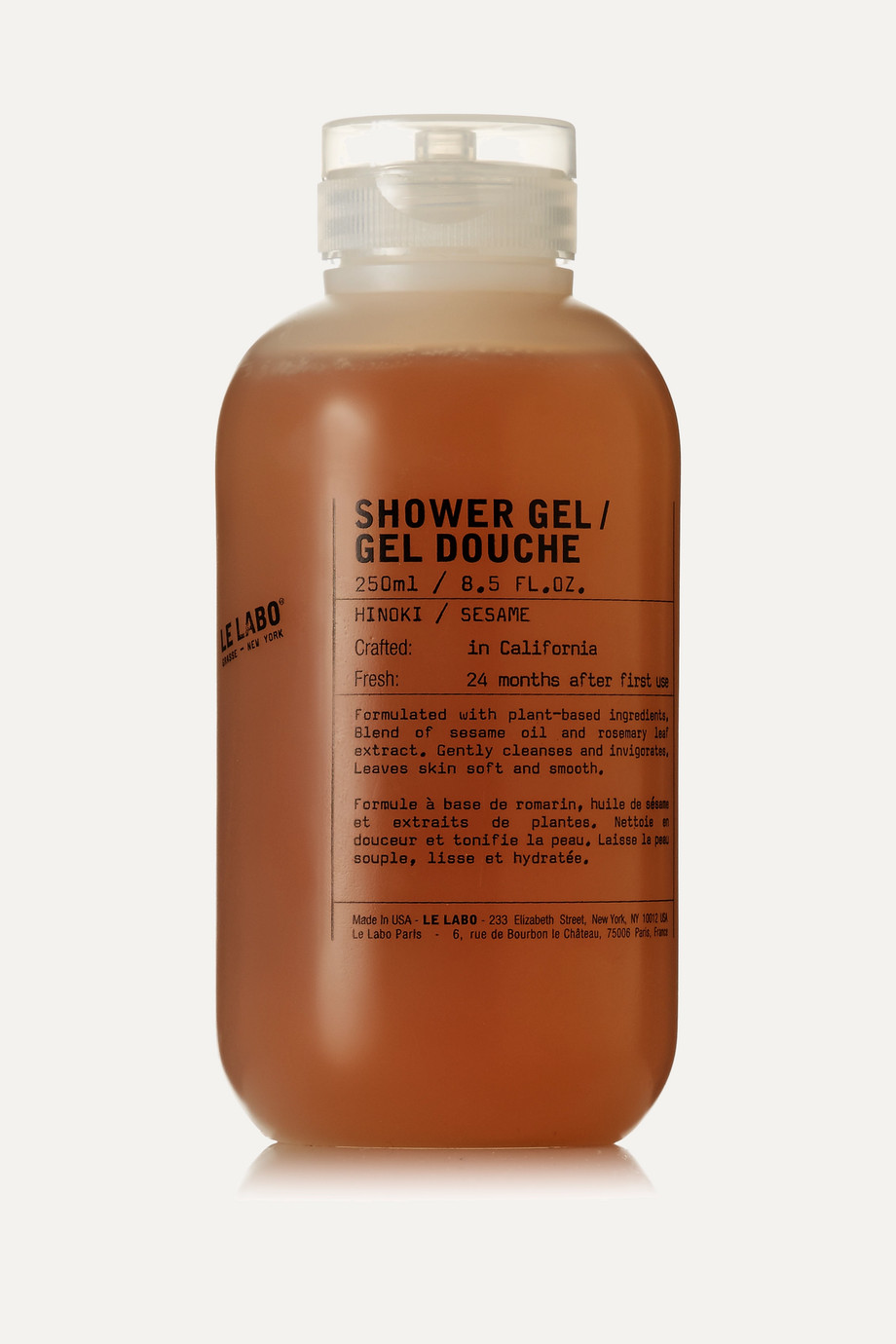 Le Labo Shower Gel – Hinoki, 250 ml – Duschgel