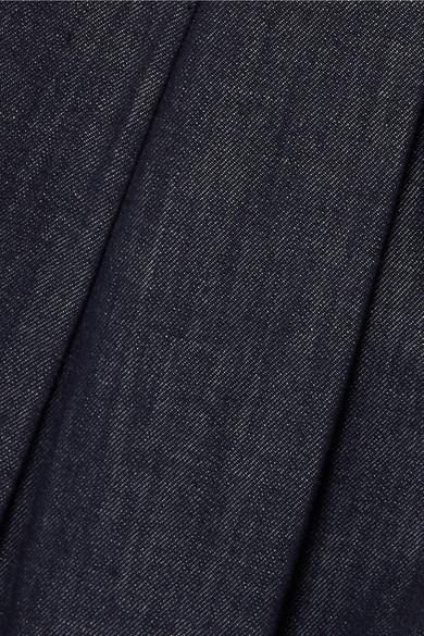 Brunello Cucinelli Hoch sitzende Jeans mit weitem Bein und Falten