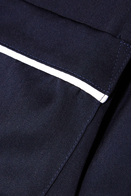 DKNY Walk The Line satin pajama set