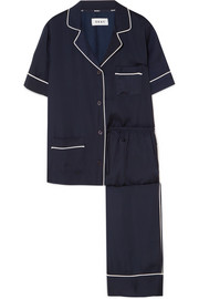 Walk The Line satin pajama set