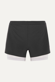 NikeLab Aeroswift mesh-trimmed Dri-FIT stretch-shell shorts