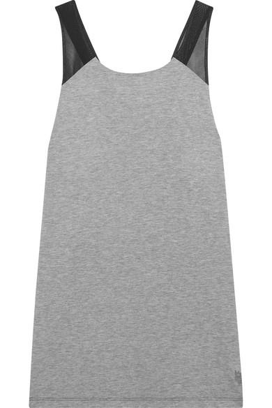 Nike NikeLab Tanktop aus Stretch-Jersey mit Mesh-Einsätzen