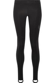 Nike Pro mesh-paneled Dri-FIT stretch leggings