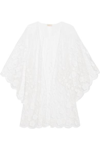 Rime Arodaky Soaia bestickter Kimono aus Tüll