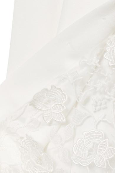 Rime Arodaky Sewell Robe aus Spitze und Crêpe Spielraum Perfekt Sat Günstig Kaufen Verkauf Wahl Günstig Online 100% Zum Verkauf Garantiert Ypj3UDpr9