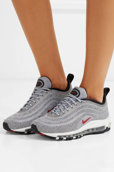 buy online 473e1 673a3 Air Max 97 Swarovski crystal-embellished mesh sneakers