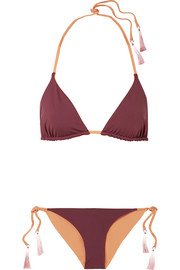 Joan reversible triangle bikini