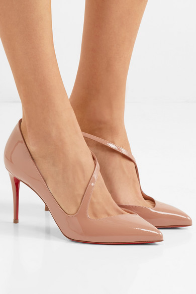 new arrival 1667c 2230b Christian Louboutin | Jumping 85 patent-leather pumps | NET ...