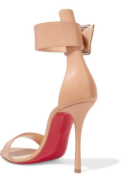 84dfbcaf618 Christian Louboutin | Blade Runana 100 leather sandals | NET-A ...