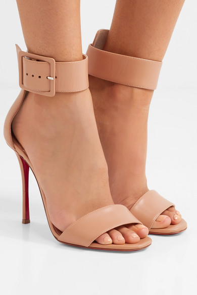 half off 8d546 00f97 Christian Louboutin | Blade Runana 100 leather sandals | NET ...