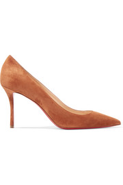 Christian Louboutin Decoltish 85 suede pumps