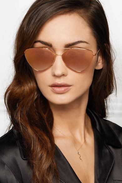 b40b882668 ... low price prada cat eye rose gold tone mirrored sunglasses net a porter  dc853 775f8