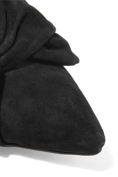Schnelle Lieferung Zu Verkaufen Günstig Kaufen Bestseller Sam Edelman Laney Mules aus Veloursleder mit Schleife Verkauf Billigsten w1ycQ8t0YR