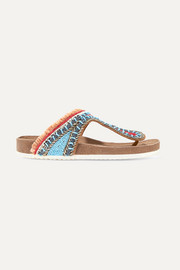 Sam Edelman Olivie embellished leather sandals