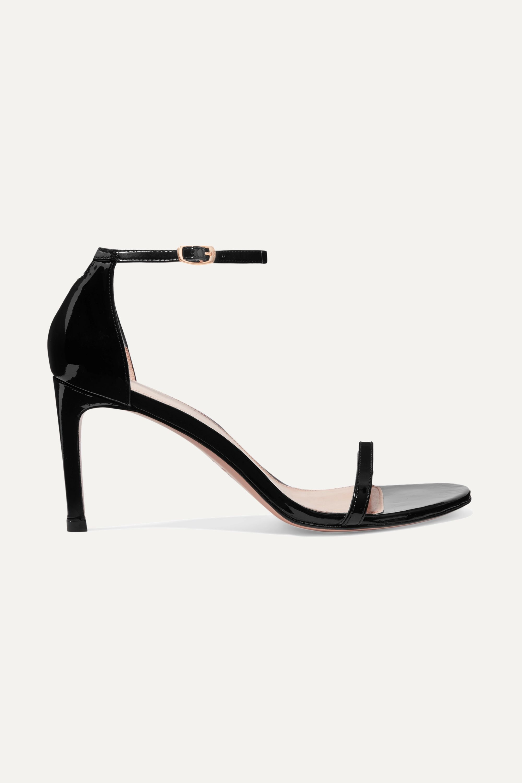 Stuart Weitzman Nudist patent-leather sandals