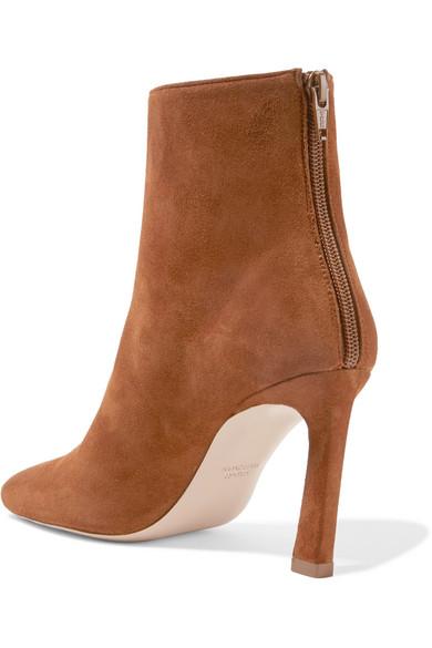 100% Original Sale Online Cheap Sale Collections Stuart Weitzman Aster Suede Ankle Boots zG8tRR