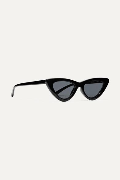 52b17fefe00 + Adam Selman The Last Lolita cat-eye acetate sunglasses