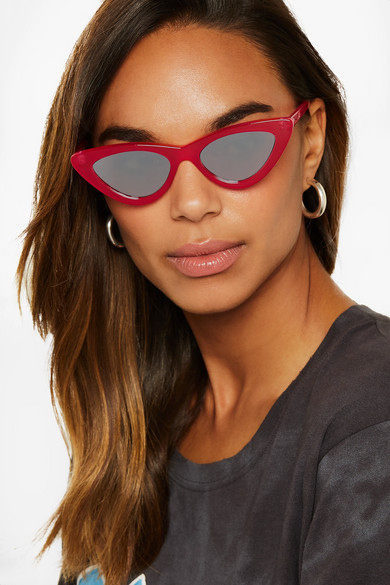 Le Specs x Adam Selman The Last Lolita sunglasses - Red Le Specs YczuNDi6c