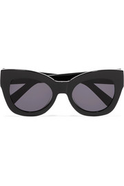Northern Lights cat-eye acetate sunglasses