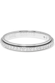 Possession 18-karat platinum diamond ring
