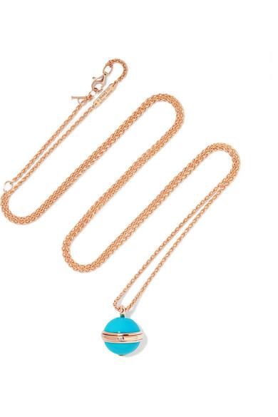 Piaget Possession 18karat rose gold turquoise and diamond
