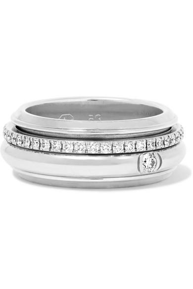 Possession 18-karat White Gold Diamond Ring - 7 Piaget B1gwh5