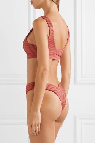 Fella Romeo strukturiertes Bikini-Oberteil