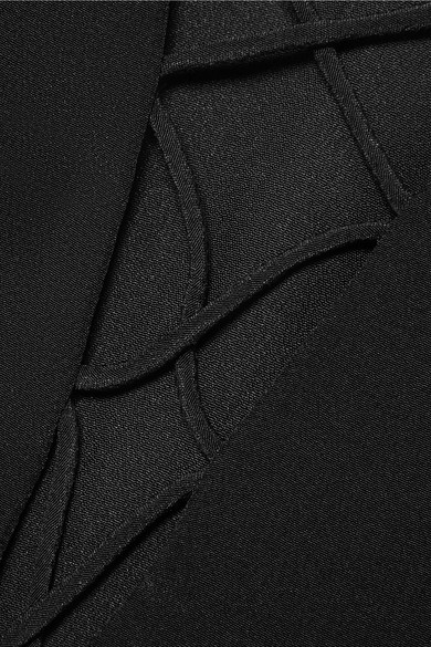 Cami NYC Blake Top aus Seiden-Charmeuse mit Schnürung