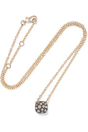 Collier en or rose 18 carats et en diamants Nudo