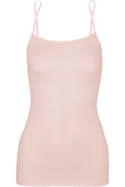 Ultralight cotton-jersey camisole