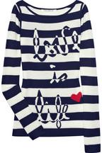 Diane von Furstenberg Striped knitted sweater