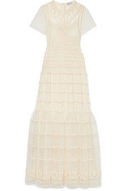 REDValentino Point d'esprit gown
