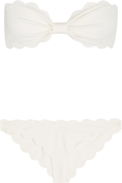 Marysia Antibes Bikini-Oberteil mit Wellenkante