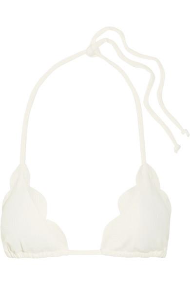 Marysia Broadway Triangel-Bikini-Oberteil mit Wellenkanten Verkauf Niedriger Versand ZMvzx