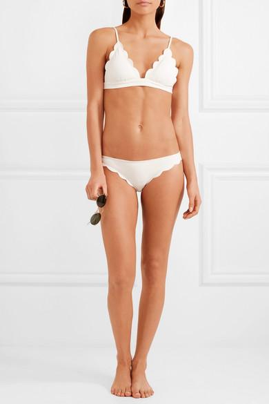 Marysia Fixed Triangel-Bikini-Oberteil mit Wellenkanten