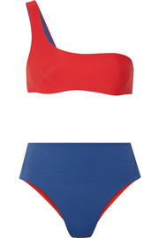 Solid and Striped The Isabeli reversible one-shoulder bikini