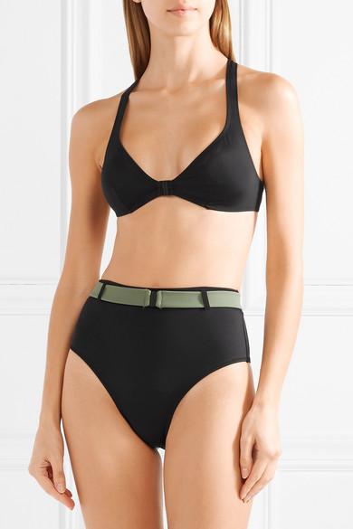 Solid & Striped The Josephine Bikini mit Gürtel