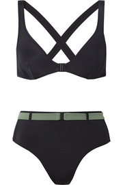 Solid and Striped The Josephine belted bikini