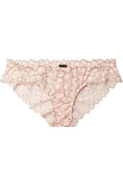 Rosario The Cheeky stretch-corded lace briefs