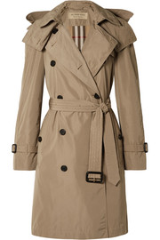 The Amberford hooded shell trench coat
